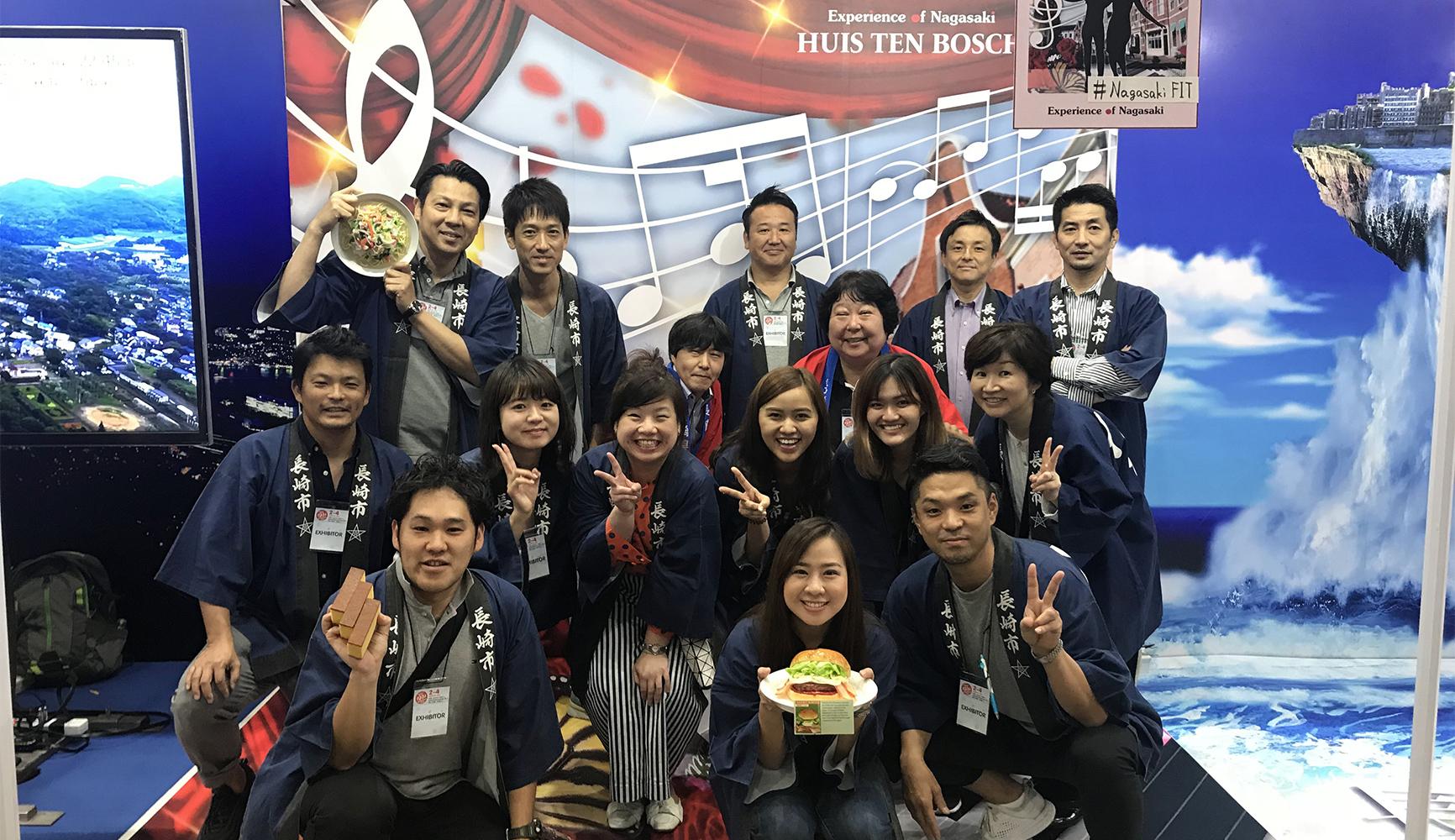 バンコクFITフェア長崎ブースにて観光PR(2018年度)